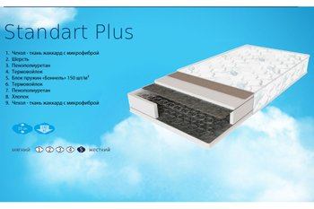 Купить Матрас Sleep&Fly Standart Plus 70х190